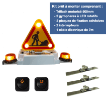 Combiné Triflash LED 500 - kit complet prêt à monter