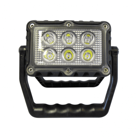 Phare LED rechargeable et portatif