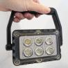 Phare LED rechargeable et portatif - utilisable sur pied ou avec poignée