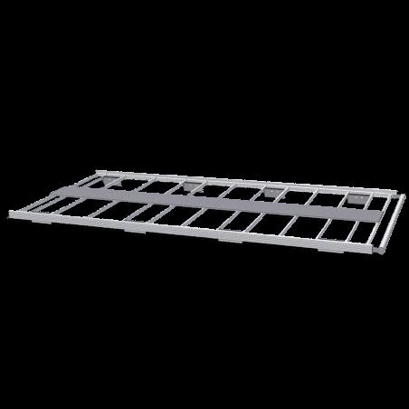 Galerie aluminium pour Berlingo Van 2018+. Galerie plate idéale pour parkings