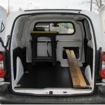 Cloison de séparation Opel Combo Cargo 2018+ avec option trappe