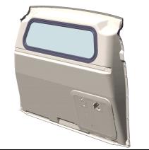Cloison de séparation Citroen Berlingo Van 2018+ avec vitre fixe ou coulissante