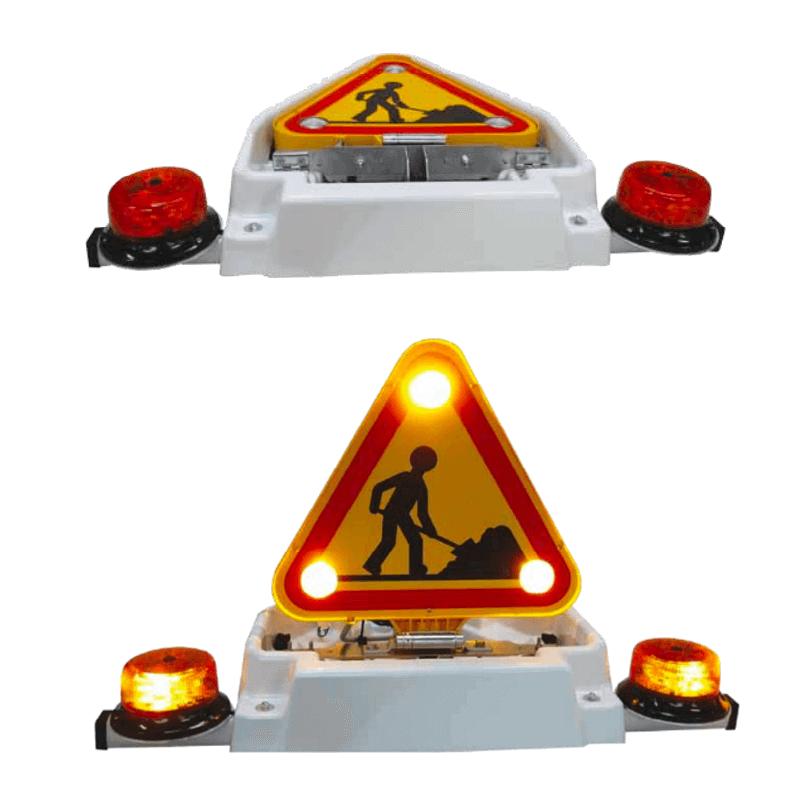 Combiné Triflash LED 500 - relevage électrique - Fabriqué en France