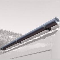 Porte-tubes pour véhicule utilitaire