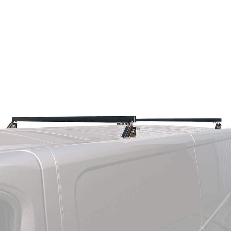 Barres de toit rabattables pour Renault Trafic - position haute