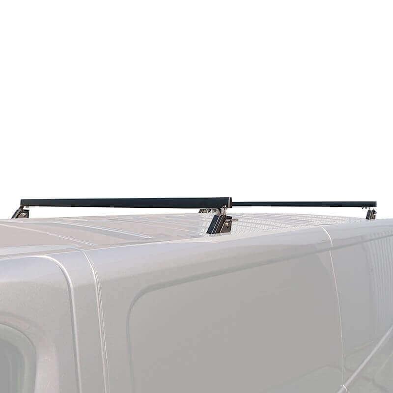 Barres de toit rabattables pour Nissan NV300 - position haute