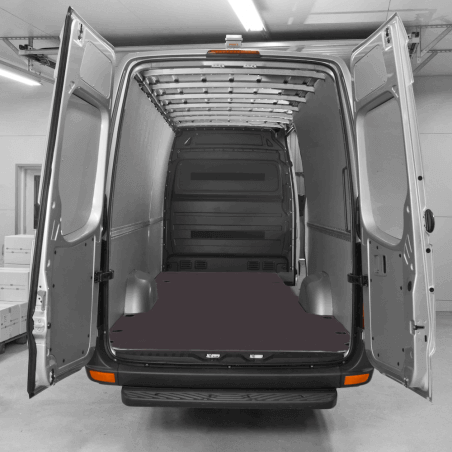 Habillage polypro & bois - Volkswagen Crafter 2017 (Traction) - Kit complet