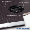 Habillage polypro & bois - Volkswagen Crafter 2017 - détails plancher