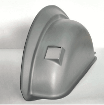 Passages de roue thermoformés en PEHD (polyéthylène haute densité) : extrêmement résistants