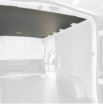 Protection plafond gris pour Opel Vivaro 2019+ . Exemple sur Renault Trafic. La découpe sera spécifique à votre modèle