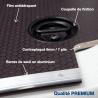 Habillage complet polypro & bois - Renault Kangoo - détails plancher bois