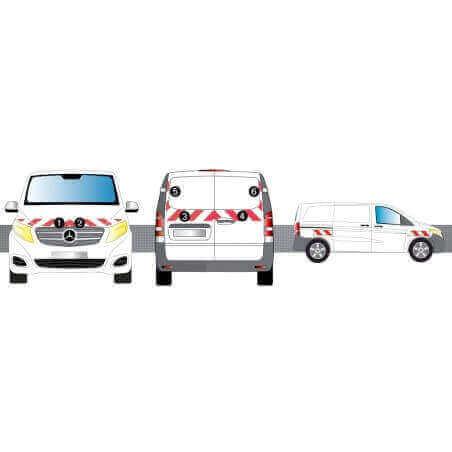 Kit de balisage - VW Crafter