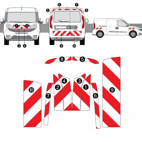 Kit de balisage - Fiat Doblo