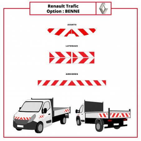 Kit de balisage - Renault Trafic Benne