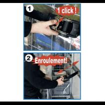 Sangle 25mm à enrouleur automatique - fonctionnement