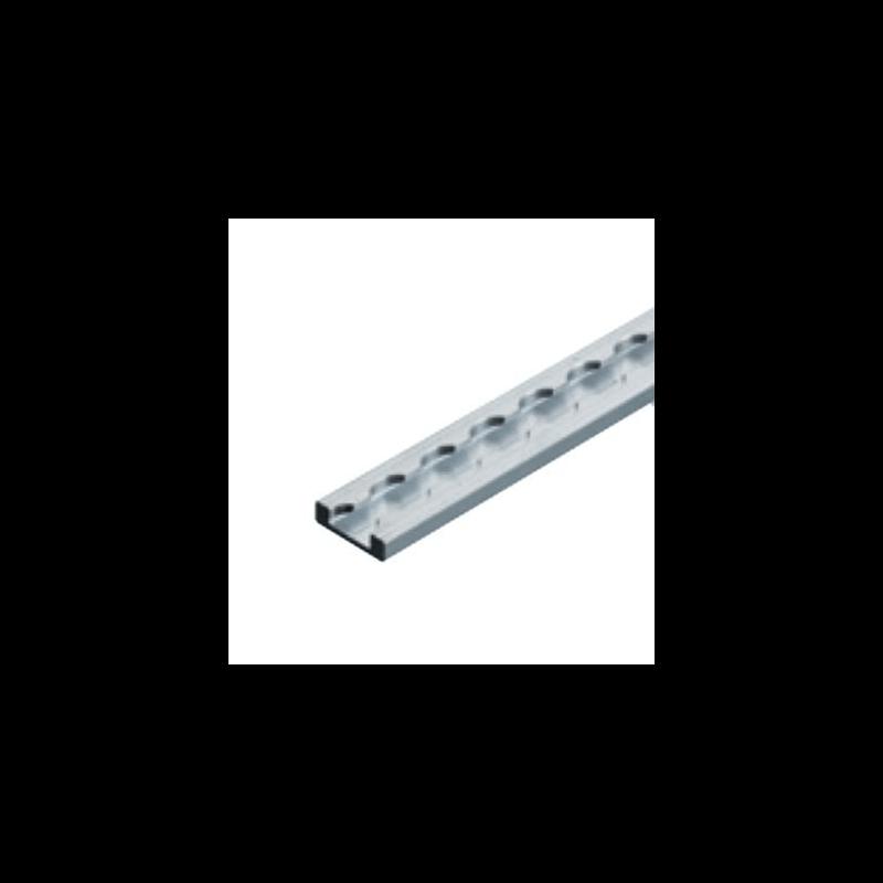 Rail d'arrimage type 'aéro' fin - 2m