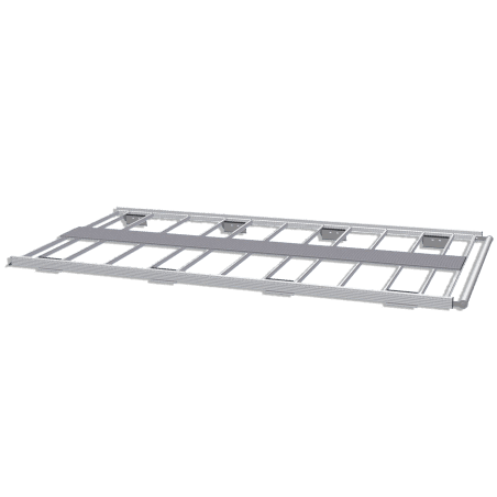 Galerie aluminium pour Citroen Berlingo. Galerie plate idéale pour parkings