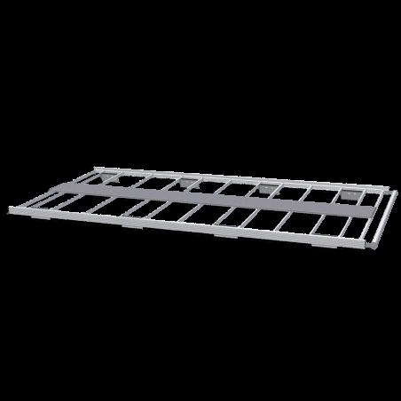 Galerie aluminium pour Citroen Nemo. Galerie plate idéale pour parkings