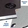 Habillage complet alliant les meilleurs matériaux : bois et polypro - Citroen Jumpy