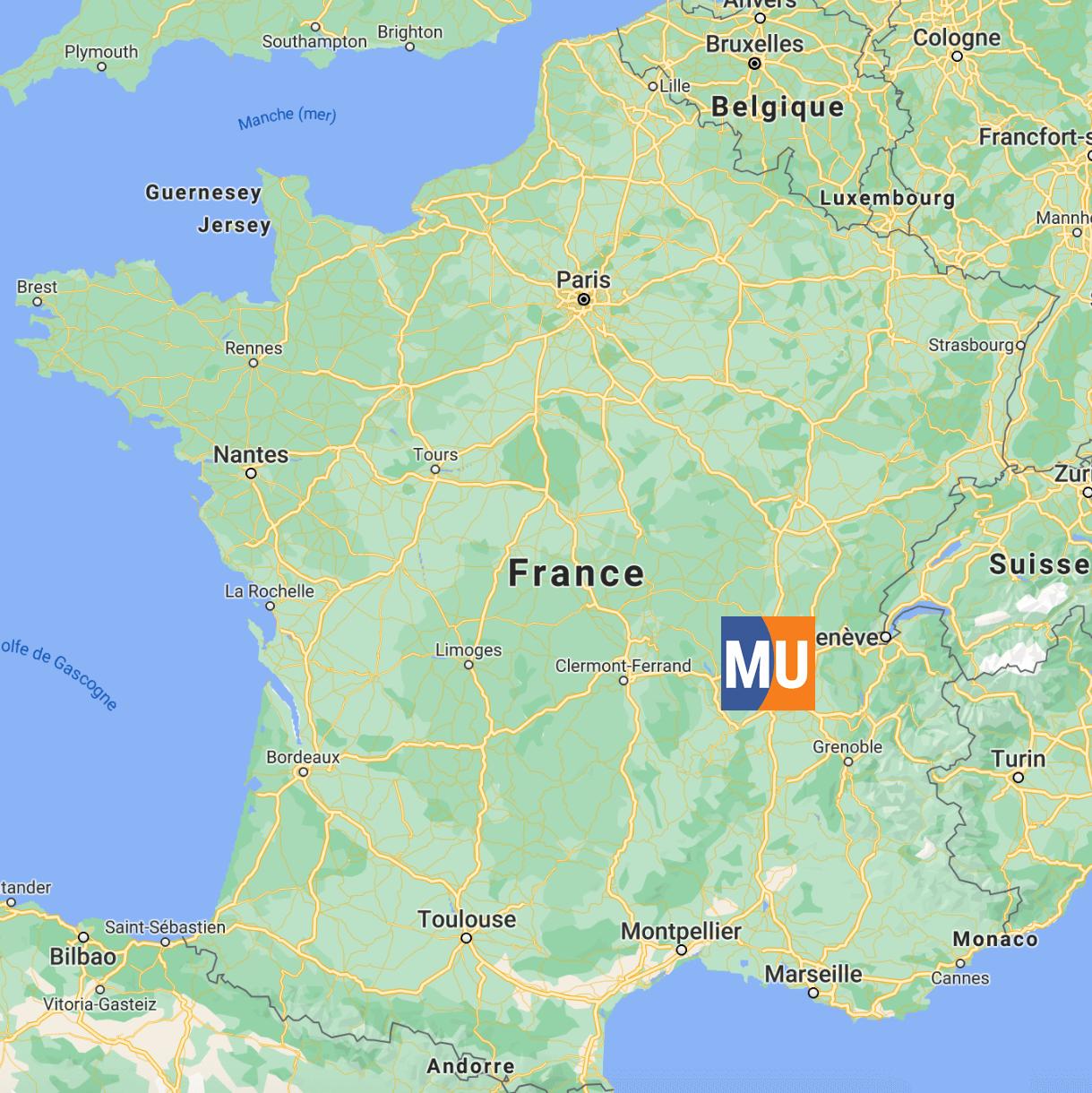 Localisation en France - MeilleurUtilitaire