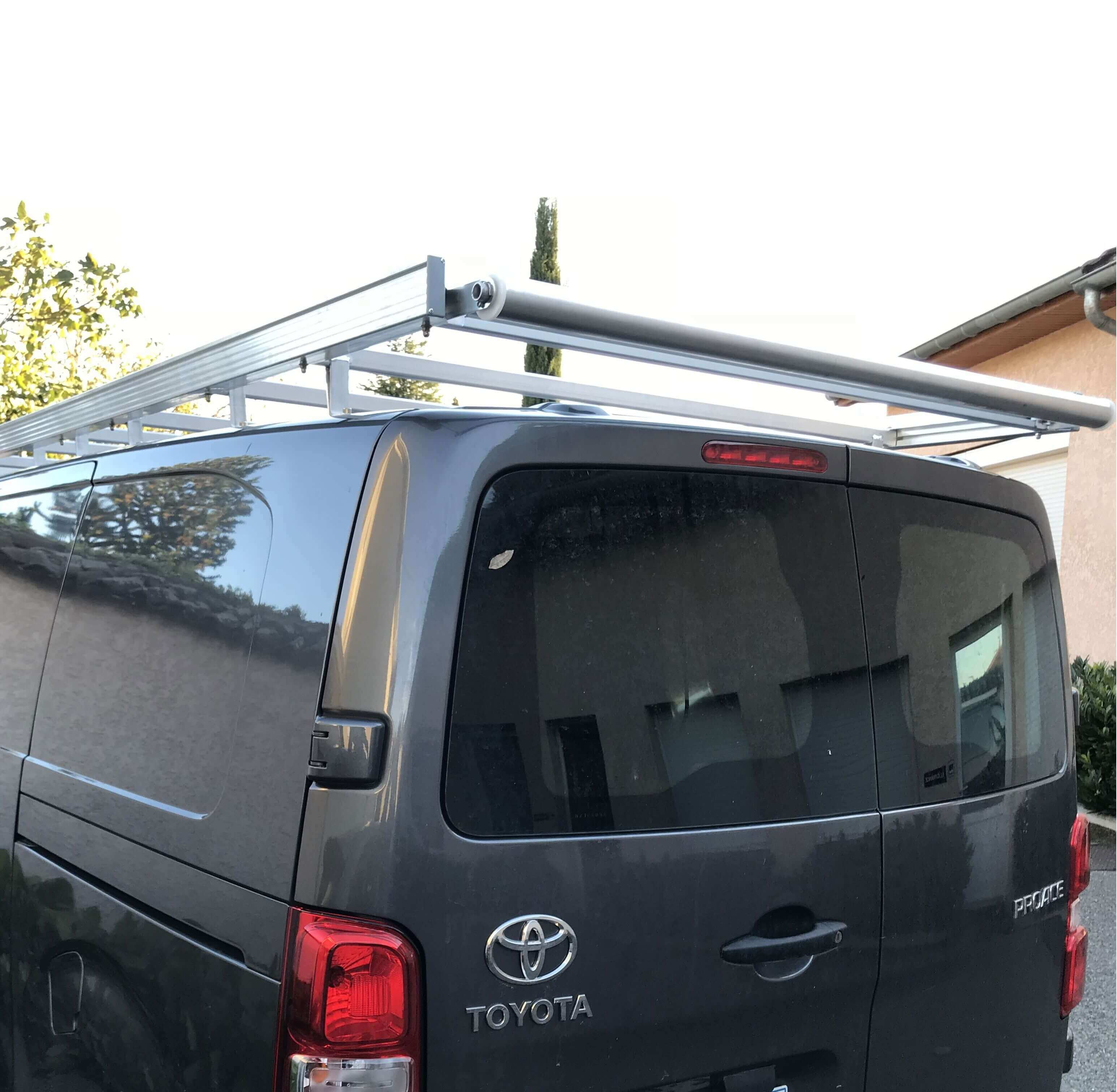 Galerie plate Toyota Proace