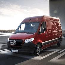 Aménagement nouveau Mercedes Sprinter 2018+